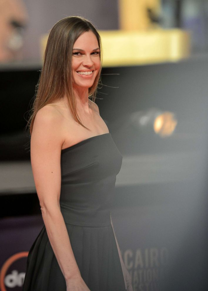 Hilary Swank opens up ...