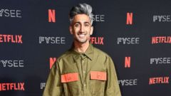 """PHOTO: Tan France attends #NETFLIXFYSEE Event For """"Queer Eye"""" at Netflix FYSEE At Raleigh Studios, May 31, 2018 in Los Angeles."""