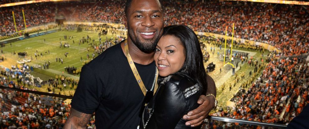 PHOTO: In this file photo, NFL player Kelvin Hayden and actress Taraji P. Henson attend Super Bowl 50 at Levis Stadium, Feb. 7, 2016, in Santa Clara, Calif.