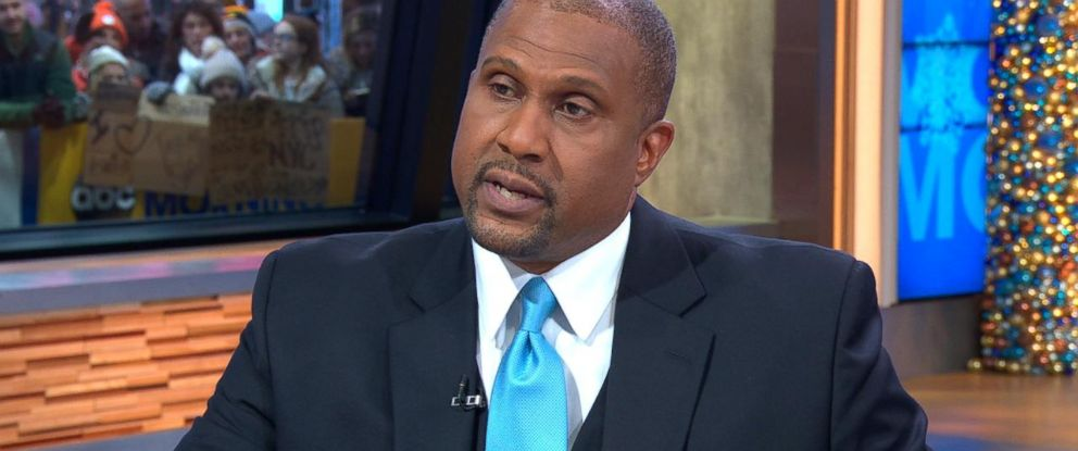"PHOTO: Tavis Smiley appeared on ""Good Morning America"" on Monday, Dec. 18, 2017."