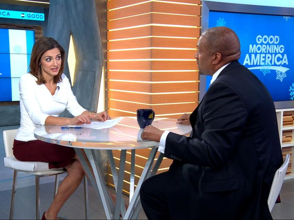 PHOTO: Tavis Smiley defended himself against sexual harassment accusations during a live interview on Good Morning America on Monday, Dec. 18, 2017.