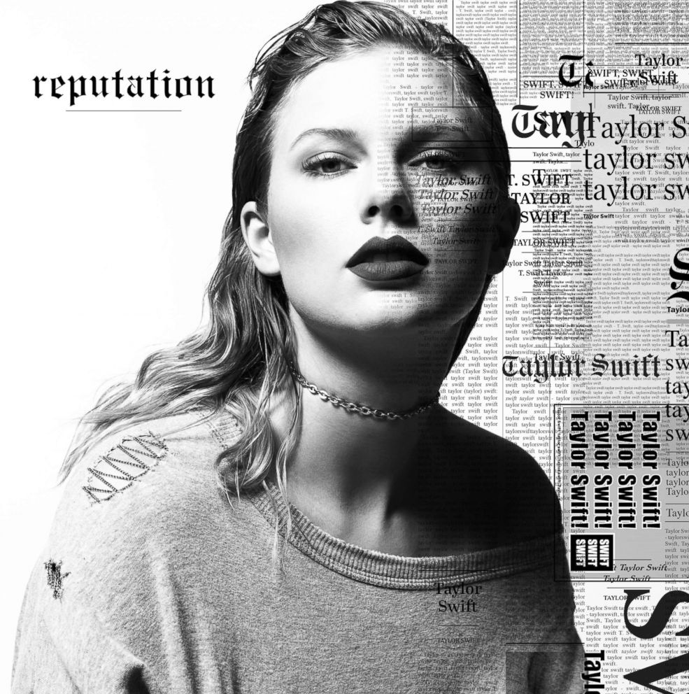 PHOTO: This cover image released by Big Machine shows art for Taylor Swifts album, reputation, released Nov. 10, 2017.