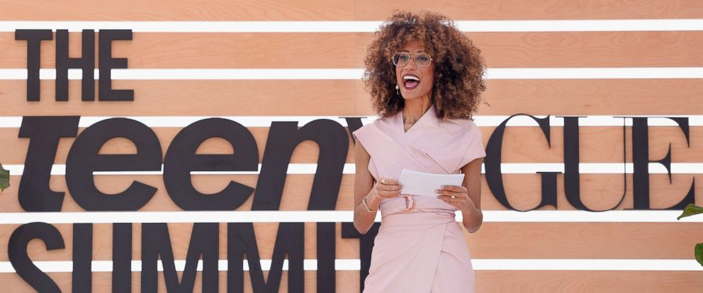 PHOTO: Elaine Welteroth speaks onstage during The Teen Vogue Summit, Dec. 2, 2017, in Playa Vista, Calif.