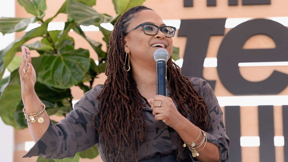 A Wrinkle In Time director Ava Duvernay speaks onstage during The Teen Vogue Summit, Dec. 2, 2017, in Playa Vista, Calif.