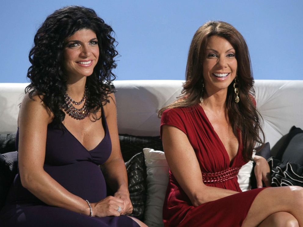 PHOTO: Teresa Giudice, left, and Danielle Staub are pictured in Reunion Episode 108 & 109 of The Real Housewives of New Jersey.