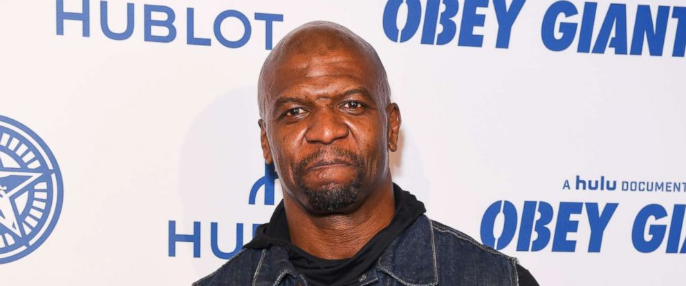 "PHOTO: Terry Crews attends Photo Op For Hulus ""Obey Giant"" at The Theatre at Ace Hotel on Nov. 7, 2017 in Los Angeles."
