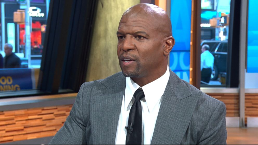"Terry Crews speaks out on ""Good Morning America"" about an alleged incident in which he says a ""high-level Hollywood executive"" groped him at a party."