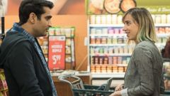 PHOTO: Kumail Nanjiani, Emily V. Gordon in a scene from The Big Sick.