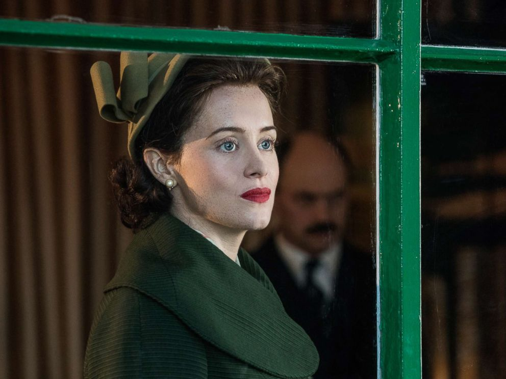 PHOTO: Claire Foy appears in a scene from The Crown.