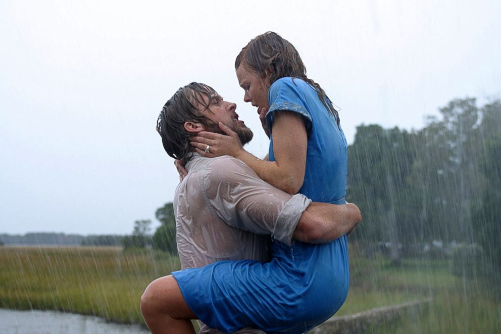 PHOTO: Ryan Gosling and Rachel McAdams in a scene from The Notebook.
