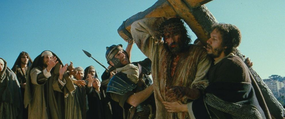 "PHOTO: Jim Caviezel and Jarreth J. Merz in ""The Passion of the Christ,"" 2004."