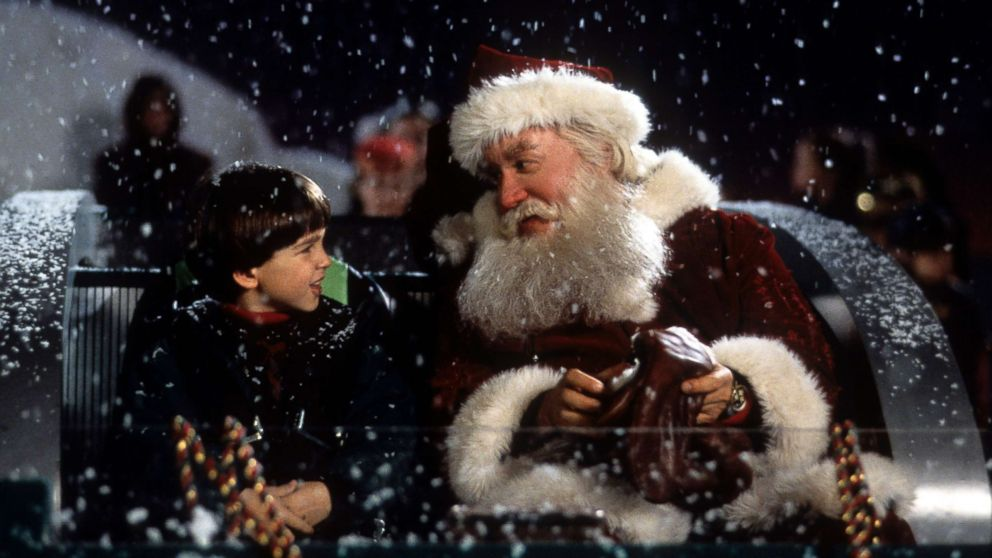 The Santa Clause' stars Tim Allen, Eric Lloyd share 9 secrets about filming  the Christmas classic - ABC News