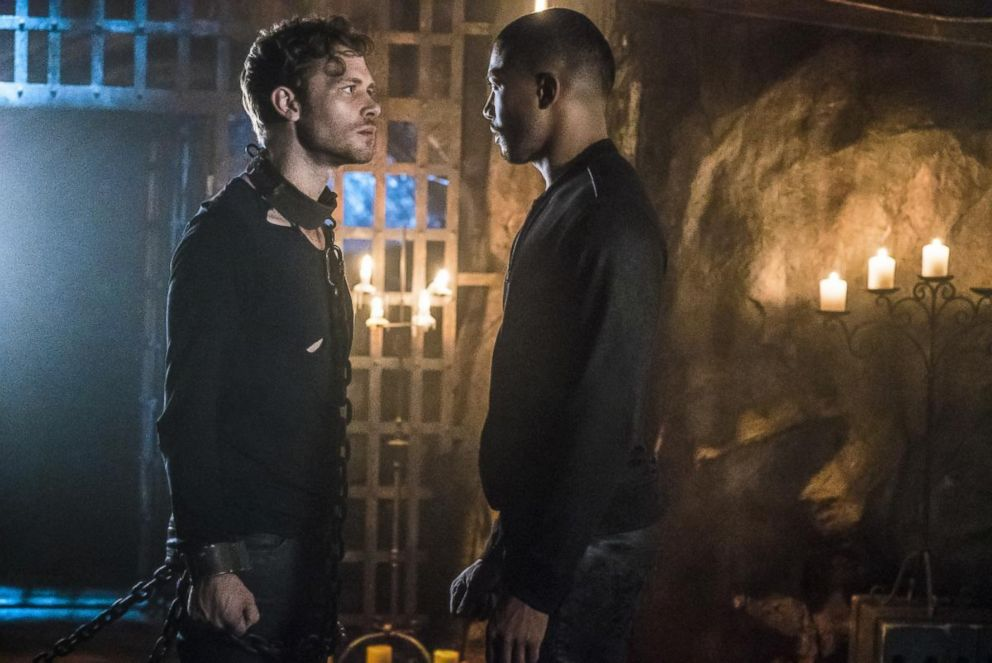 PHOTO: Joseph Morgan and Charles Michael Davis in The Originals, 2017.