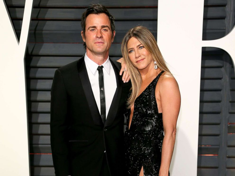 PHOTO: Jennifer Aniston and Justin Theroux attend the 2017 Vanity Fair Oscar Party, Feb. 26, 2017, in Beverly Hills, Calif.