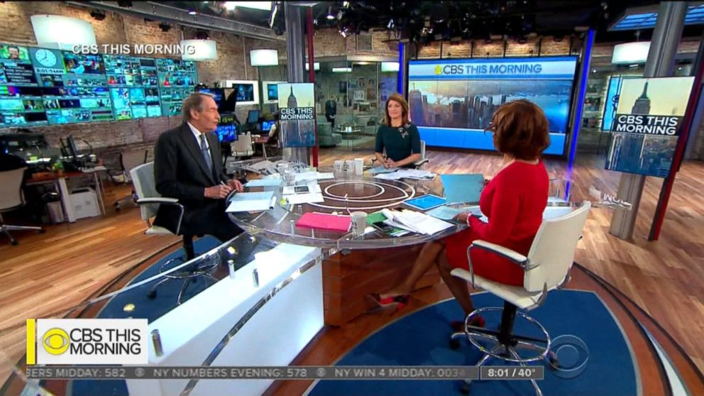 Gayle King, Norah O'Donnell react to Charlie Rose