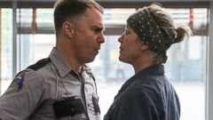 PHOTO: Sam Rockwell and Frances McDormand in Three Billboards Outside Ebbing, Missouri (2017).