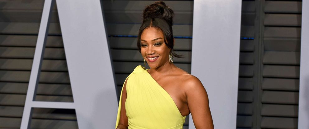 PHOTO: Tiffany Haddish attends the 2018 Vanity Fair Oscar party at the Wallis Annenberg Center for the Performing Arts, March 4, 2018, in Beverly Hills, Calif.
