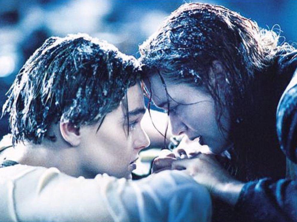 PHOTO: Leonardo DiCaprio and Kate Winslet in Titanic, 1997.