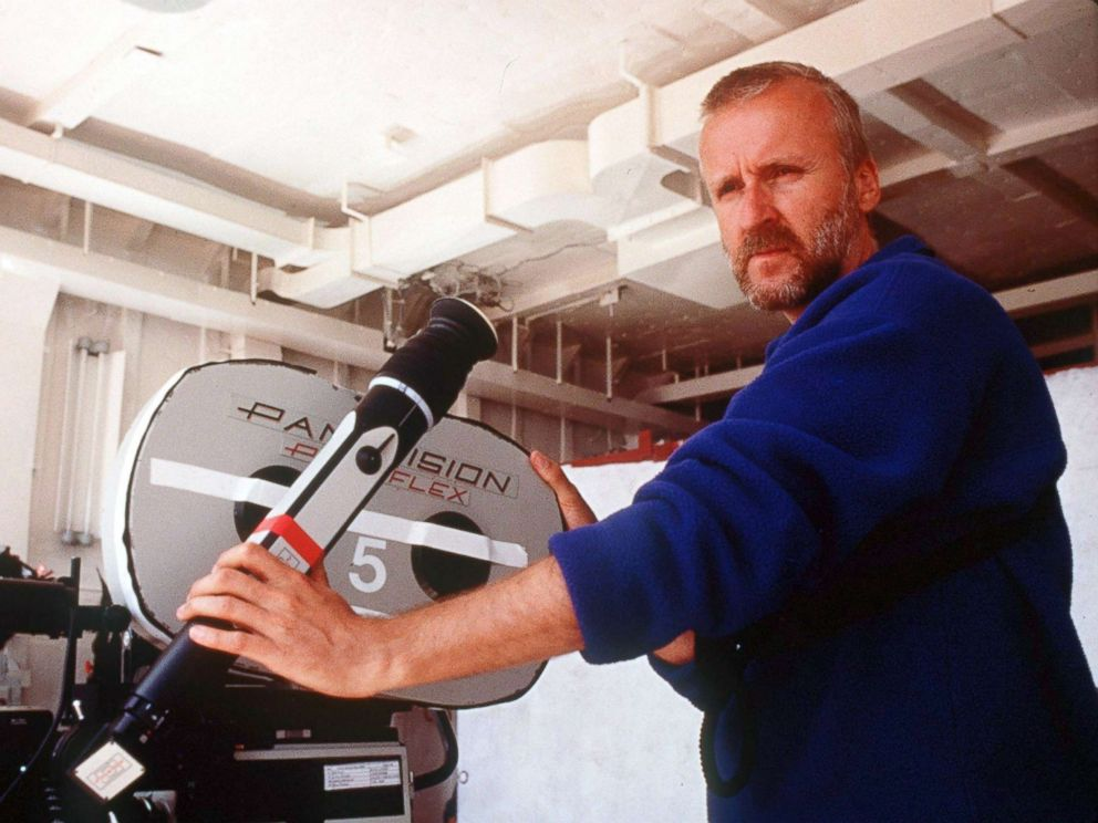 PHOTO: Director James Cameron stands on the set of the movie Titanic which won 11 Oscars, including Best Picture, Best Director and tied the 1959 movie Ben Hur for winning the most Oscars of any movie.