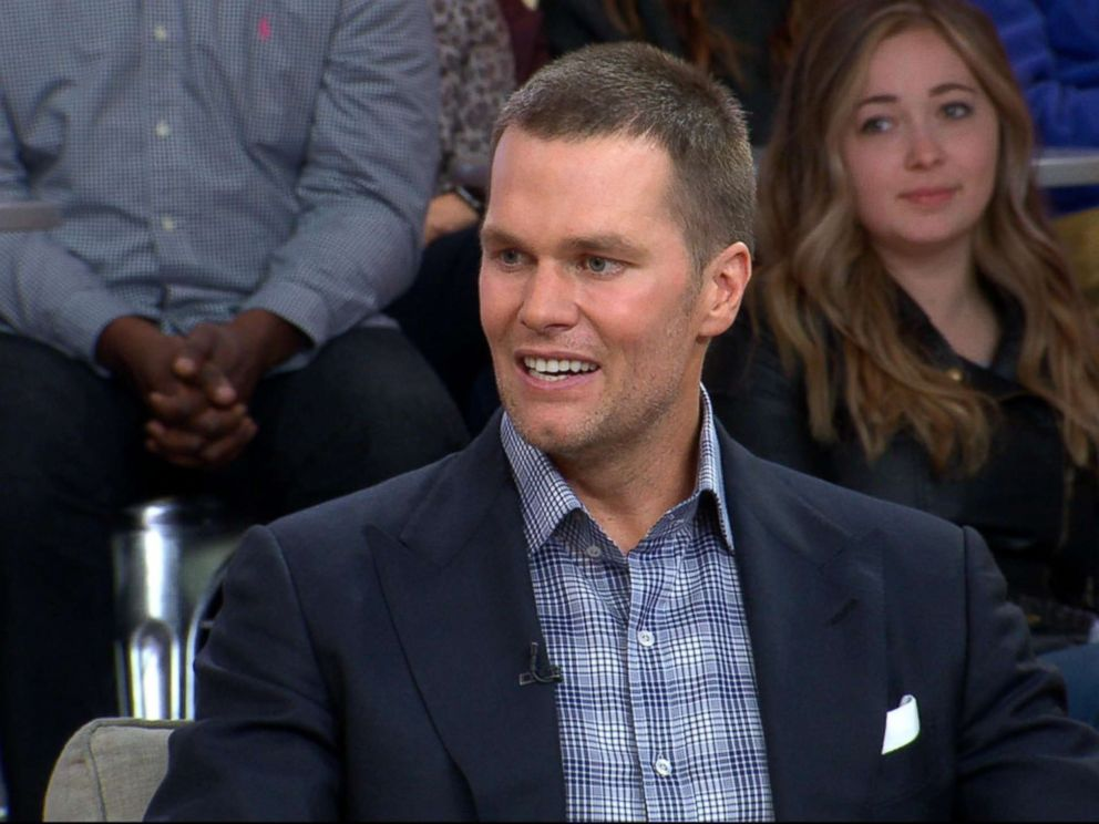 PHOTO: Tom Brady speaks out on GMA about his Facebook Watch series Tom vs. Time.