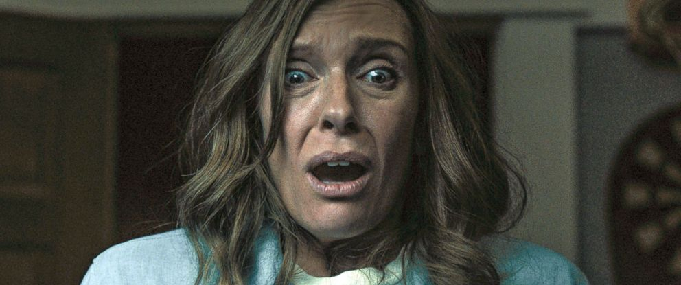 "PHOTO: Toni Collette in a scene from ""Hereditary."""