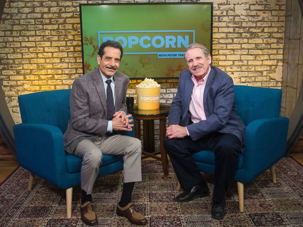 PHOTO: Tony Shalhoub appears on Popcorn with Peter Travers at ABC News studios on May 10, 2018, in New York City.