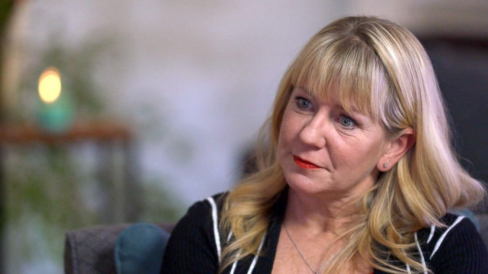 PHOTO: Tonya Harding discusses her life in ABC News Truth and Lies: The Tonya Harding Story.