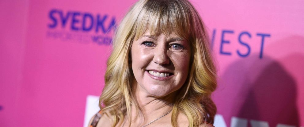 "PHOTO: Tonya Harding arrives at the Los Angeles premiere of ""I, Tonya"" at the Egyptian Theatre, Dec. 5, 2017."