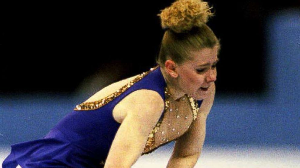 Tonya Harding skates her way to victory, Jan. 8, 1994, at the U.S. Figure Skating Championships in Detroit, Mich. Harding and Nancy Kerrigan, who did not compete because she was wounded in an attack by an unknown assailant on Jan. 6th, will represent the U.S. at the 1994 Winter Olympics.