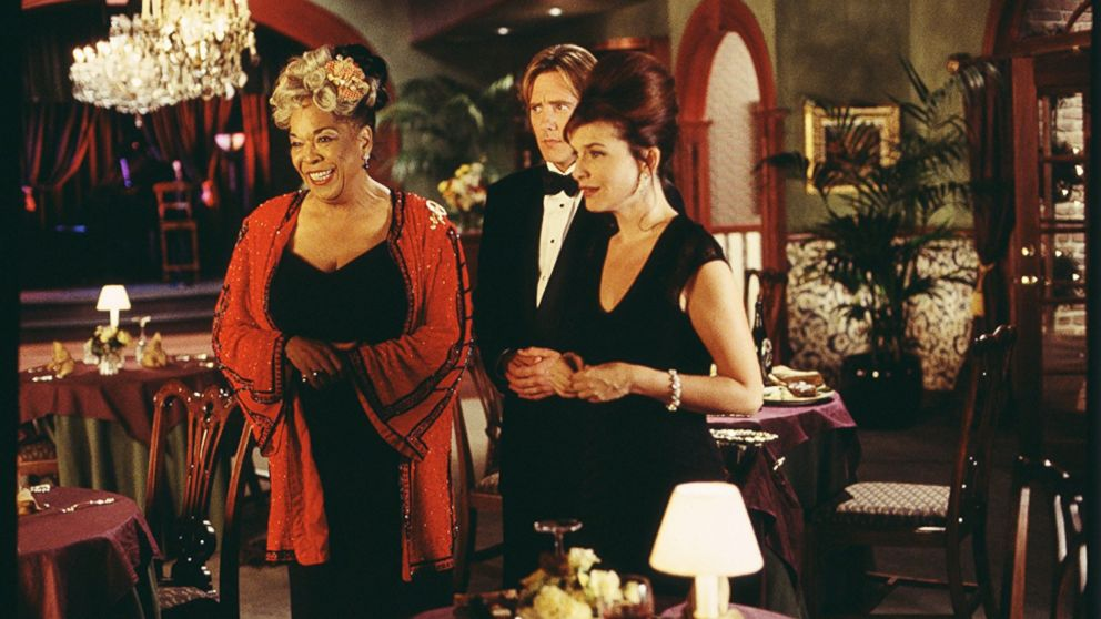 Della Reese, John Dye and Roma Downey in Touched by an Angel in 1994.