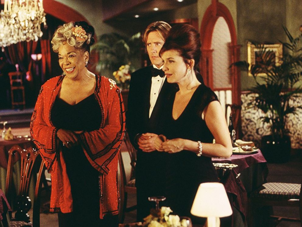 PHOTO: Della Reese, John Dye and Roma Downey in Touched by an Angel in 1994.