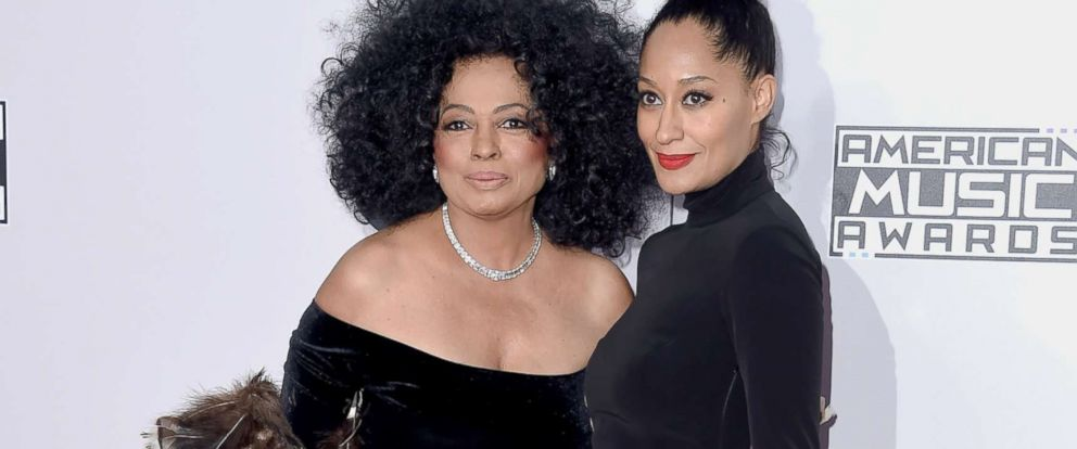 PHOTO: Diana Ross and her daughter, Tracee Ellis Ross, attend the American Music Awards on Nov. 23, 2014, in Los Angeles.
