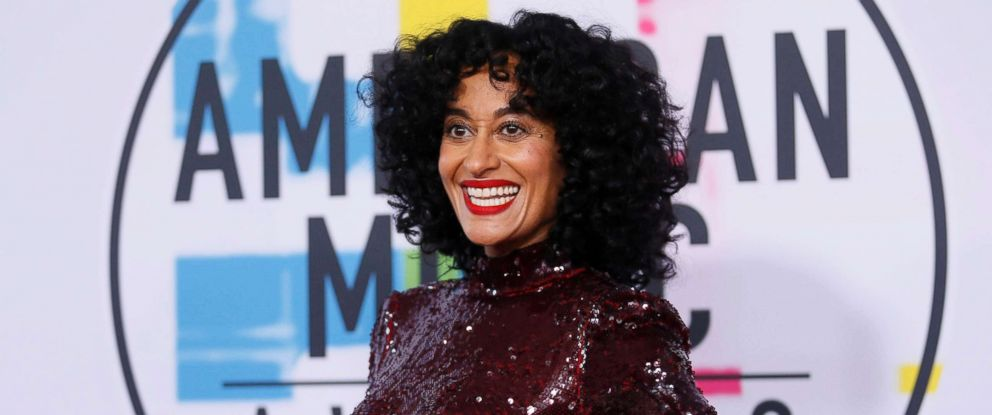 PHOTO: Tracee Ellis Ross arrives at the 2017 American Music Awards, Nov. 19, 2017, in Los Angeles, Calif.