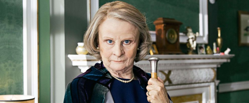 "PHOTO: Tracey Ullman as Maggie Smith in HBOs ""Tracey Ullmans Show."""