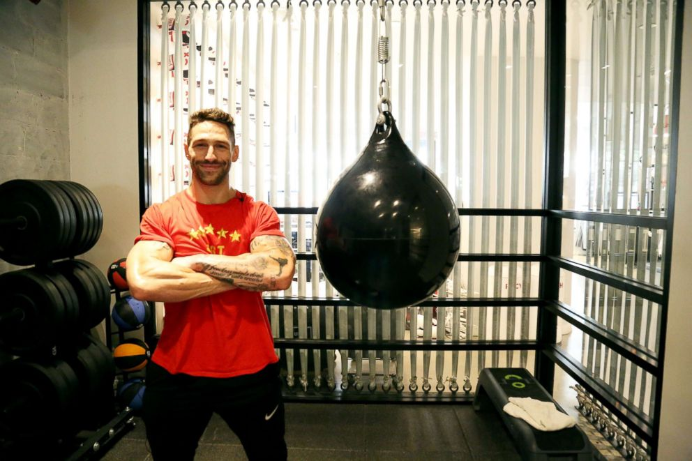PHOTO: Noah Neiman is a co-founder of New York Citys Rumble Boxing Studio.