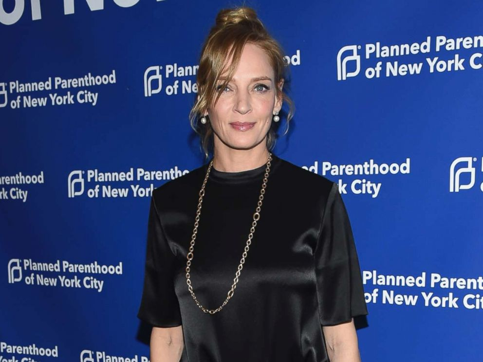 PHOTO: Uma Thurman attends the Planned Parenthood Benefit Gala at Spring Studios, May 1, 2018, in New York.