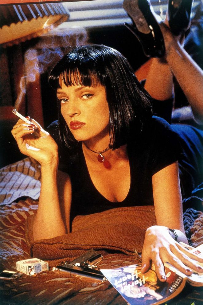 PHOTO: Uma Thurman stars in the 1994 Miramax film Pulp Fiction.