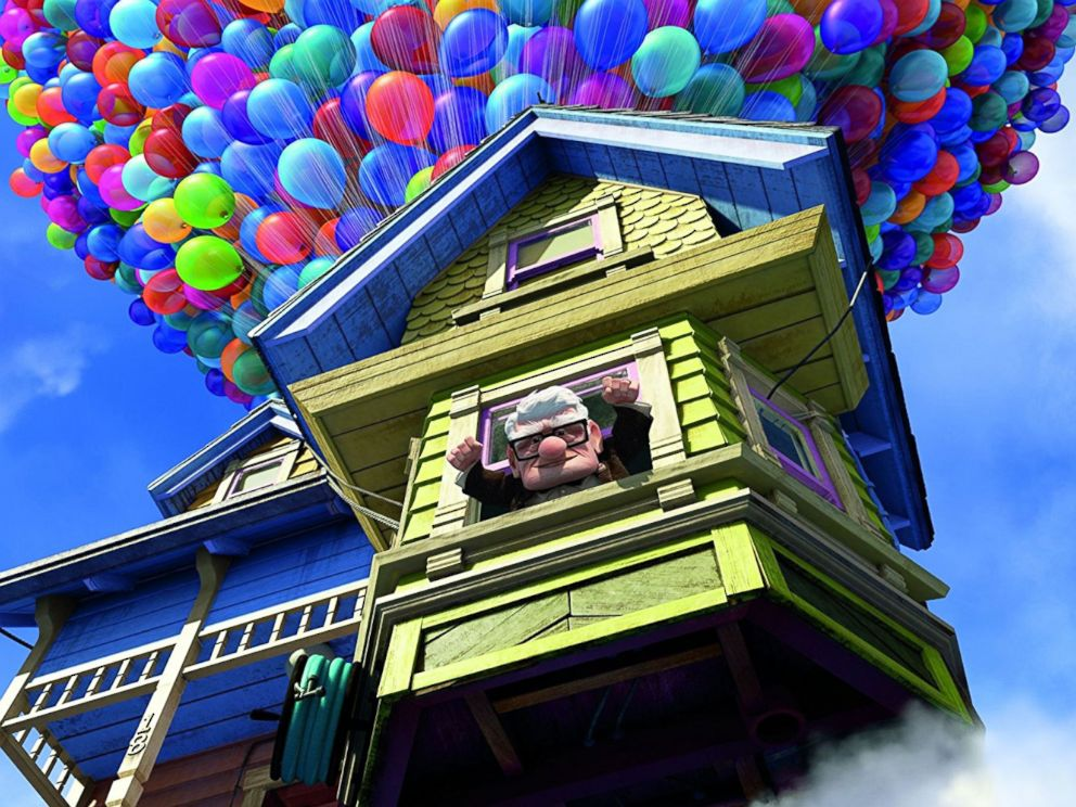PHOTO: A scene from the movie Up, 2009.