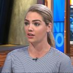 "Kate Upton appears on ""Good Morning America,"" Feb. 9, 2018."