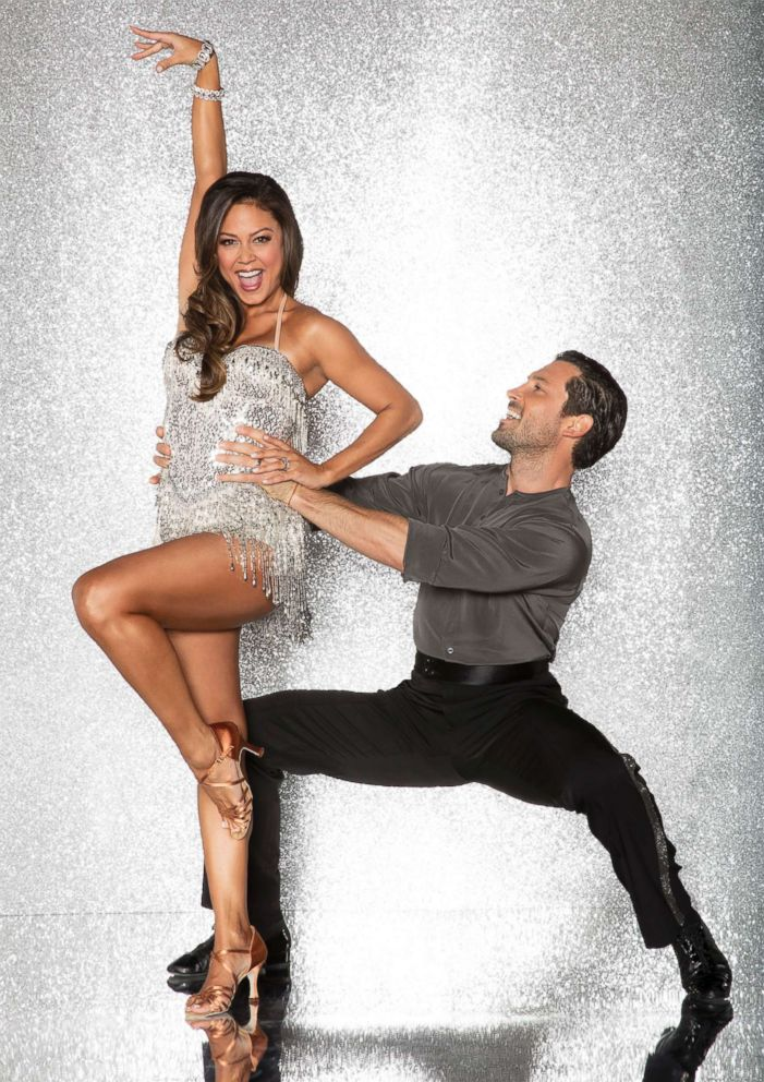 PHOTO: Vanessa Lachey and pro dancer Maksim Chmerkovskiy will compete for the mirror ball title on the new season Dancing With The Stars.