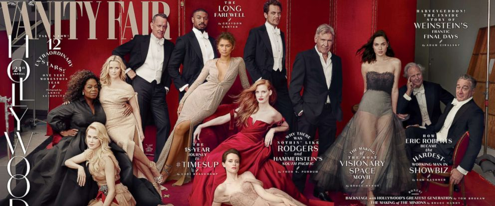 PHOTO: Vanity Fair has released its cover photo for the annual Hollywood issue.
