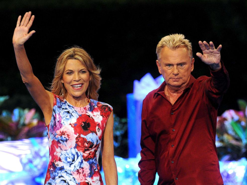 PHOTO: Wheel of Fortune hosts Vanna White and Pat Sajak attend a taping of the Wheel of Fortunes 35th Anniversary at Walt Disney World, Oct. 10, 2017, in Orlando, Florida.