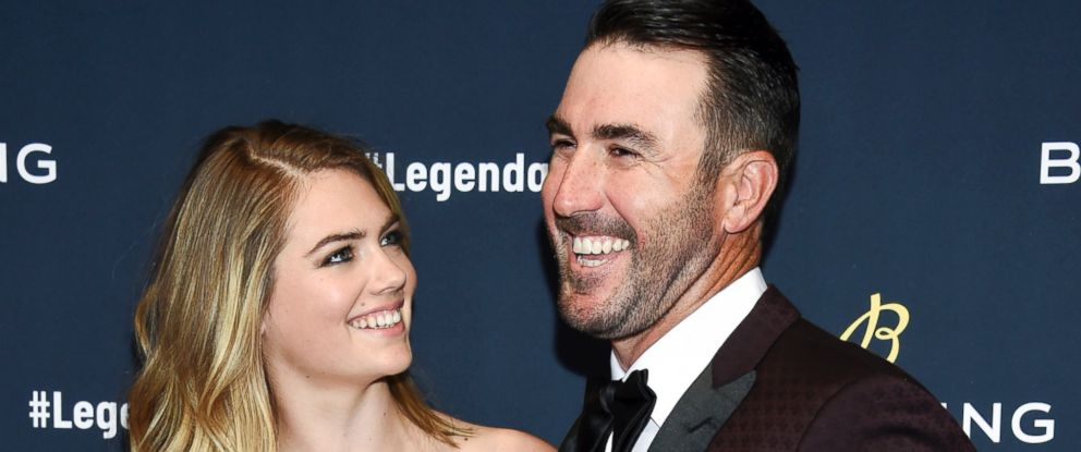 In this Feb. 22, 2018, file photo, supermodel Kate Upton and husband professional baseball player Justin Verlander attend the Breitling Global Roadshow event at The Duggal Greenhouse in New York.