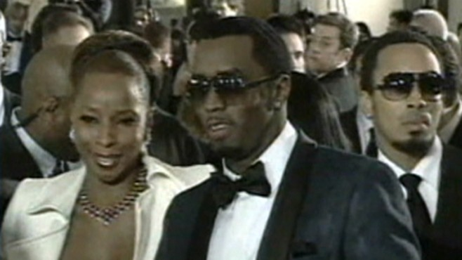 VIDEO: P. Diddy reportedly received a police escort to a club in New Jersey.