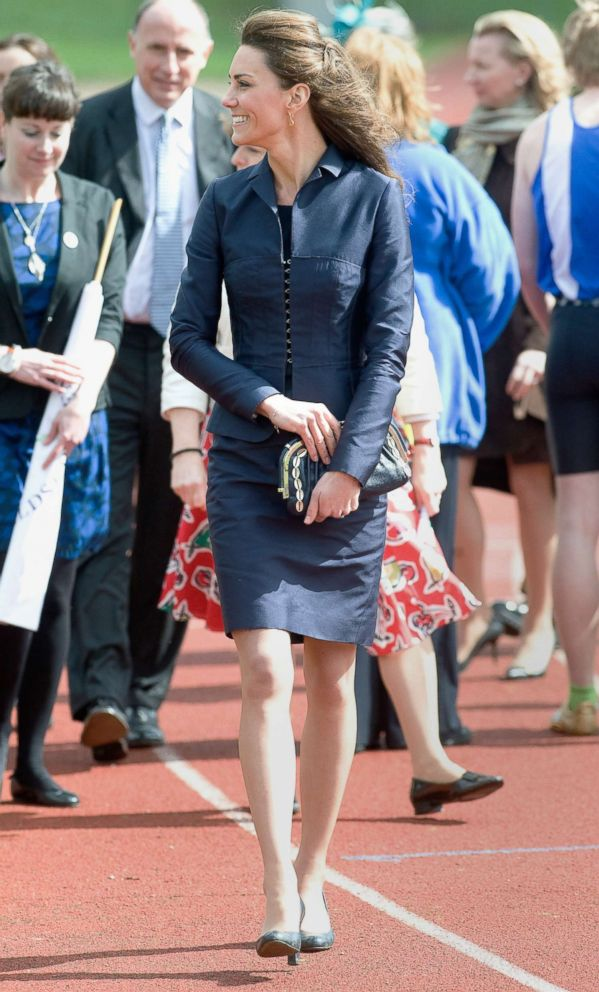 PHOTO: Kate Middleton visits Witton Country Park on April 11, 2011 in Darwen, England.