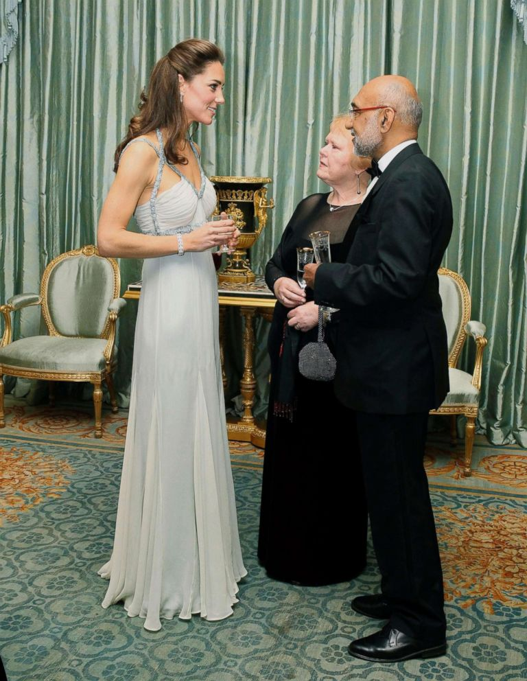 PHOTO: Catherine, Duchess of Cambridge speaks to guests at an event at Clarence House on Oct. 26, 2011 in London.