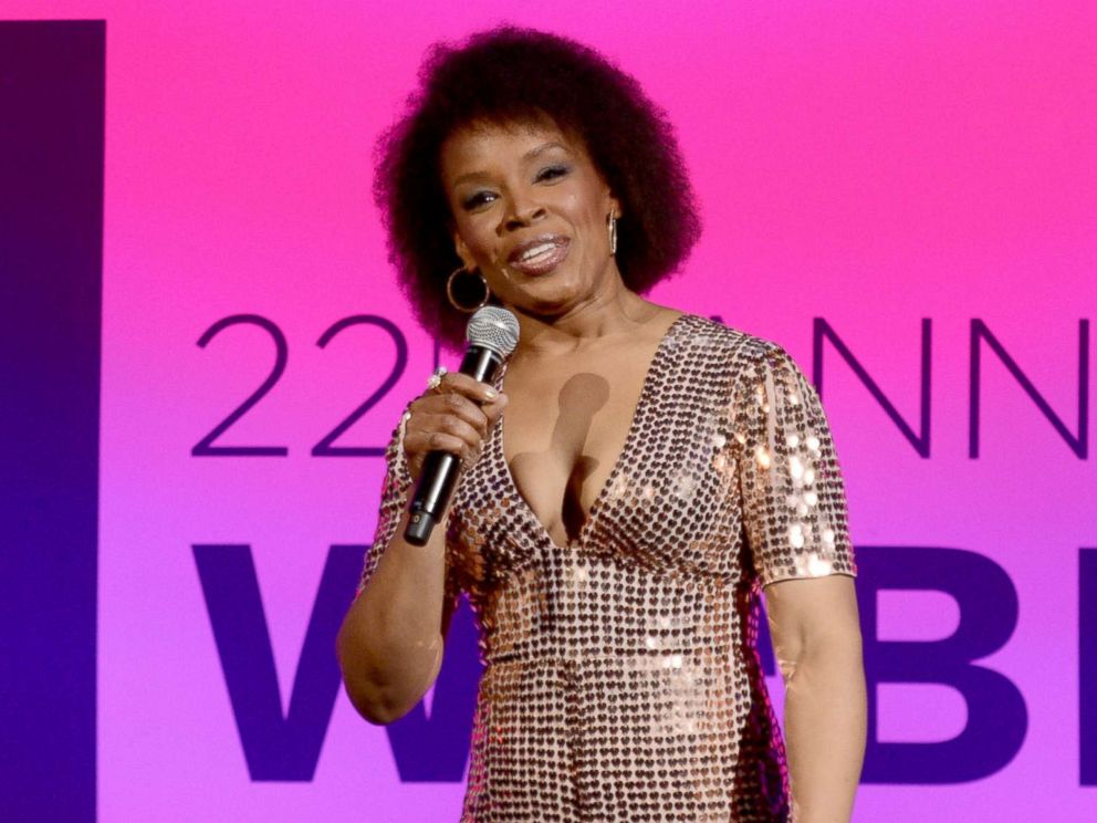 PHOTO: Host Amber Ruffin speaks at the 22nd Annual Webby Awards at Cipriani Wall Street on May 14, 2018 in New York.