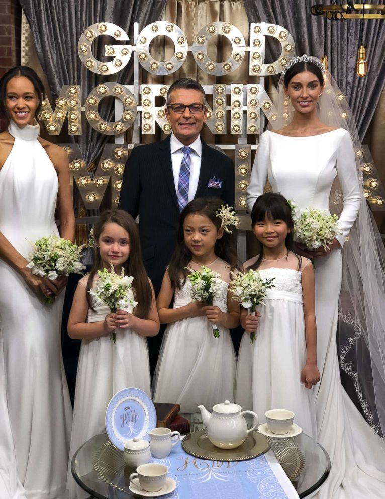PHOTO: Bridal designer and Say Yes to the Dress star Randy Fenoli shared tips with GMA on how to recreate Meghan Markles wedding looks.
