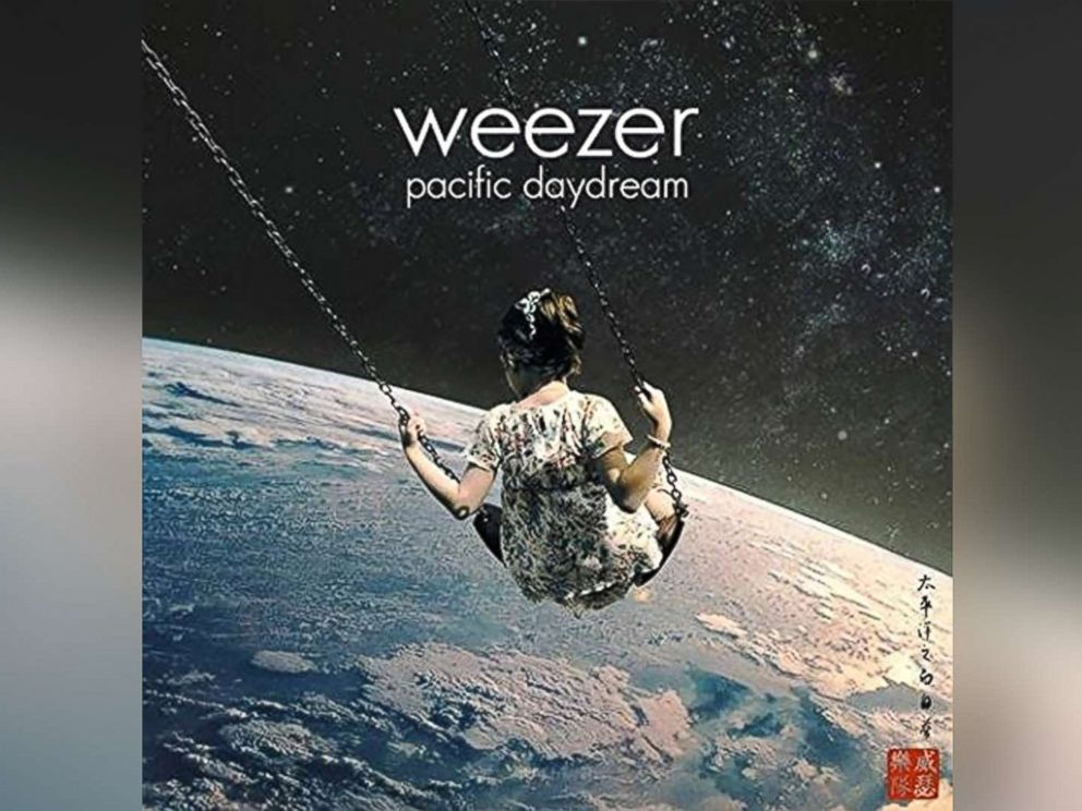 PHOTO: The cover of Pacific Daydream, a new album by Weezer in pictured.