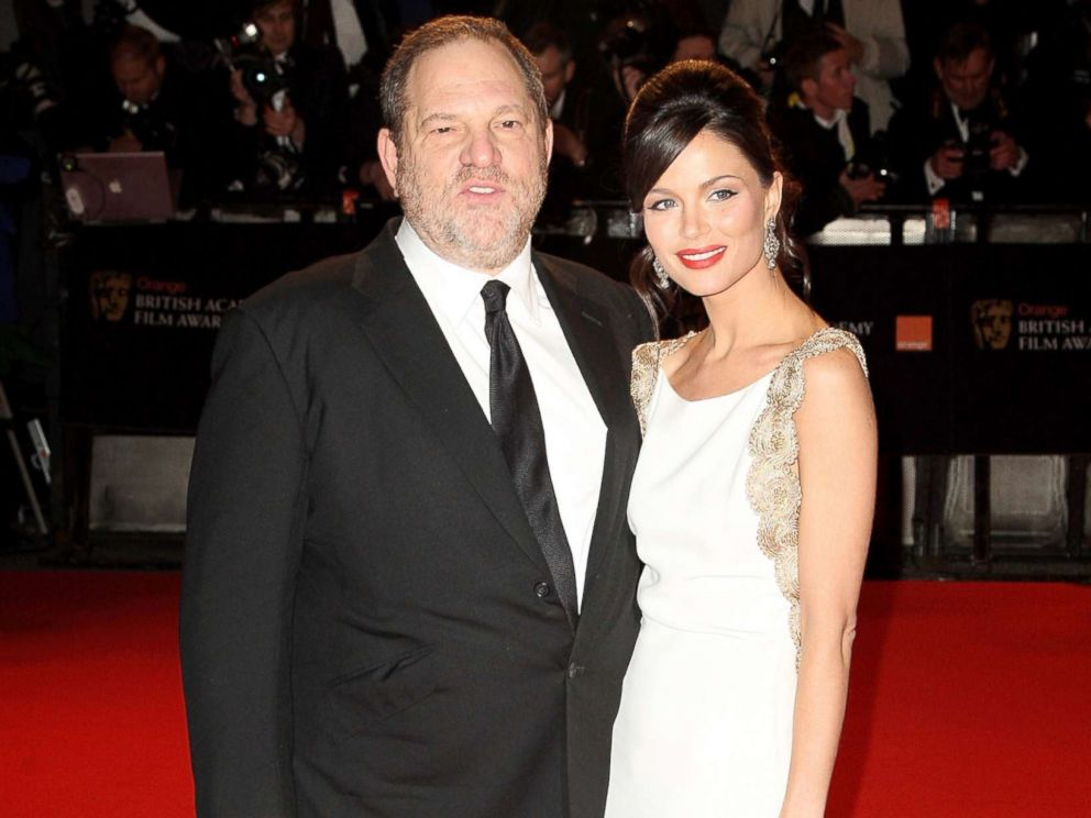 PHOTO: Film executive Harvey Weinstein and his partner Georgina Chapman arrives at the British Academy Film Awards (BAFTAs) at the Royal Opera House, Feb. 10, 2008, in London.